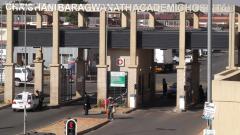 Entrance to Chris Hani Baragwanath hospital.