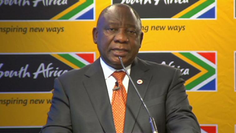 SABC News Cyril Ramaphosa 1 - President Ramaphosa assures world that govt working on a safe SA