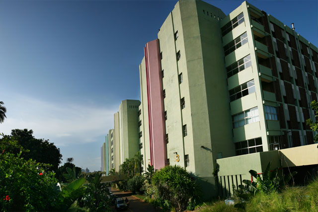 DUT campus building.