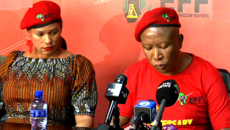 SABC News EFF - Women never get any help from law enforcement: Malema
