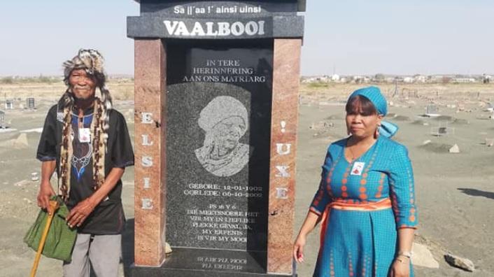 SABC News Elsie .jpg Facebook DSAC NCape  - Northern Cape govt honours Elsie Vaalbooi for preserving N!uu language