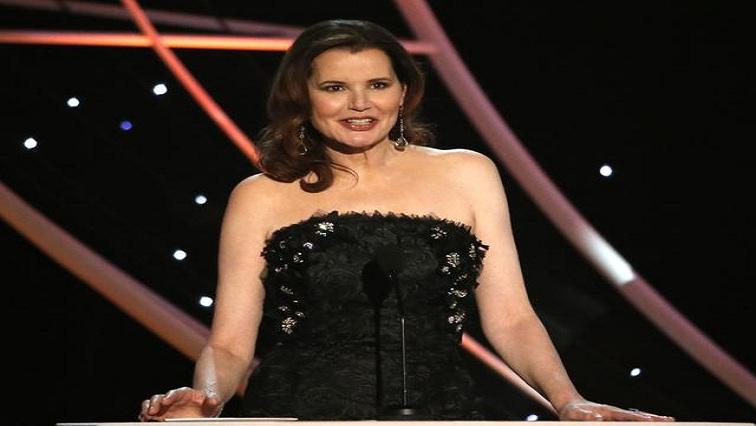 SABC News Geena Davis R - Geena Davis says Hollywood gender imbalance is an 'embarrassment'