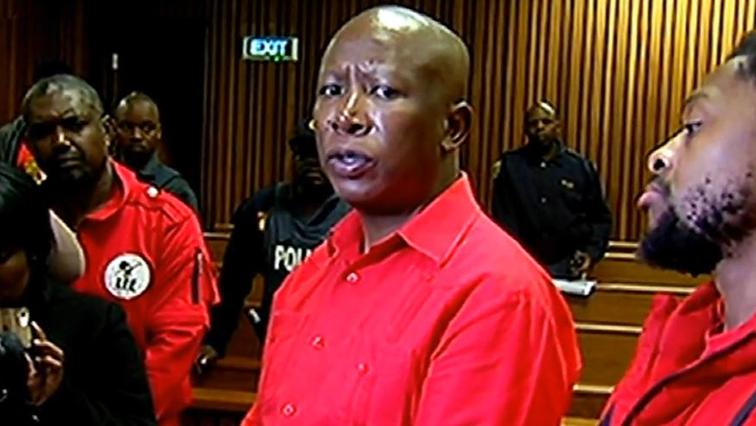 SABC News Julius Malema 2 - SAHRC to take Malema to court over Mugabe tweet