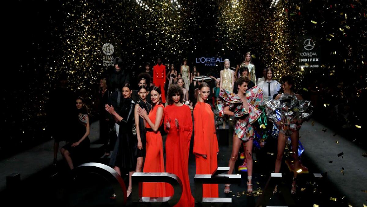 SABC News LOreal Twitter @wwd - L'Oreal celebrates female empowerment with glamorous runway show