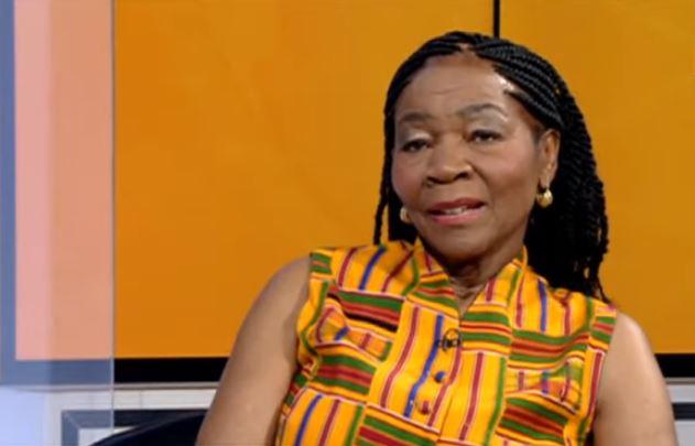 Legendary musicians Letta Mbulu during an interview.