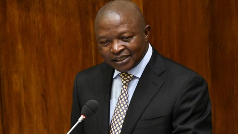SABC News Mabuza.jpg PresidencyZA - Govt has land identified for redistribution reveals Mabuza