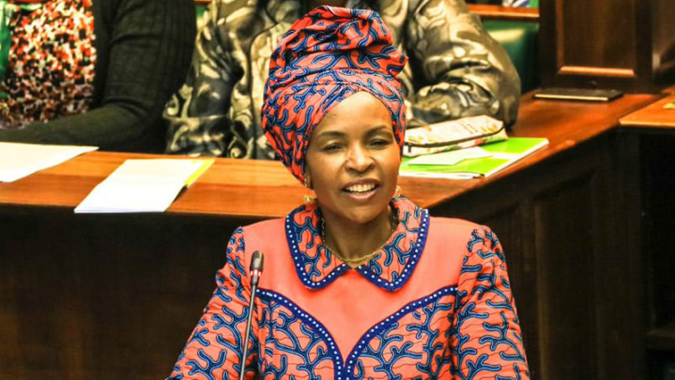 SABC News Maite Nkoana Mashabane ParliamentofRSA 1 - Nkoana-Mashabane declares Sunday as a day of prayer