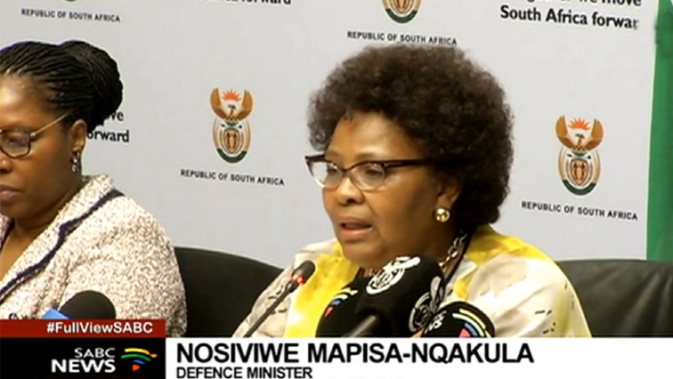 SABC News Mapisa Nqakula P - Security cluster will deal with individuals using protests for criminal gain