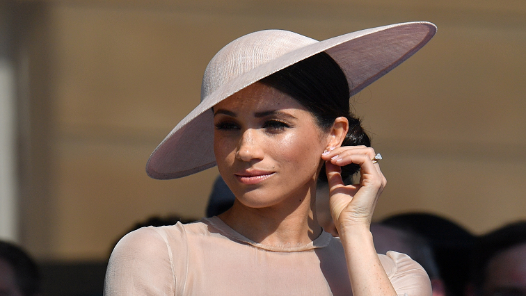 SABC News Meghan Markle R - UK's Duchess Meghan returns to work to launch new charity fashion range