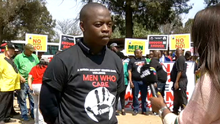 SABC News Men Who Care - #MenWhoCare march against GBV