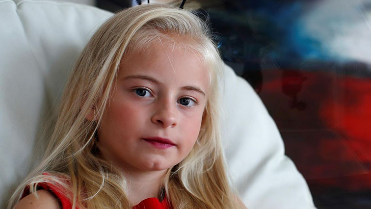 SABC News Model Daisy May Demetre R - Nine-year-old double amputee to model at Paris Fashion Week