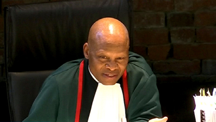 SABC News Mogoeng Mogoeng SABC 1 - Africa for Palestine to lodge complaint against Chief Justice Mogoeng with Judicial Service Commission