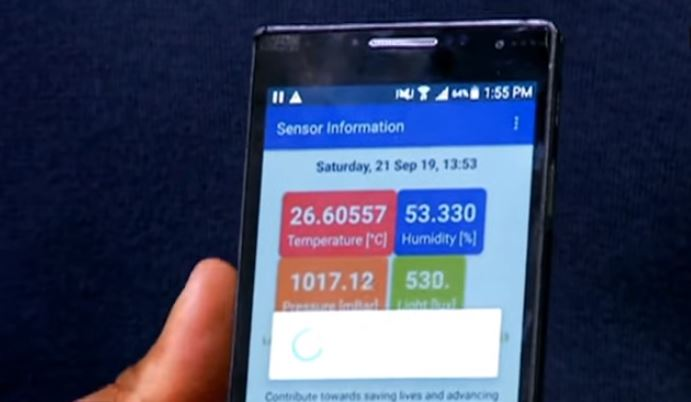 SA student presents Weather App at UN Youth Climate change summit.