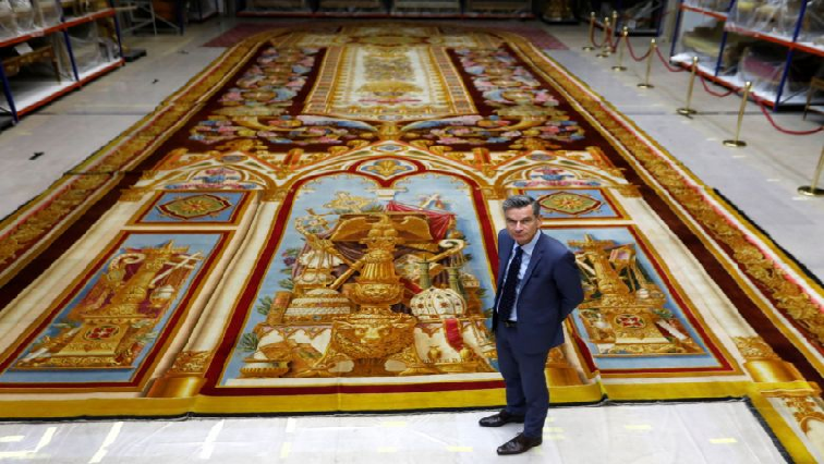 SABC News Notre Dame tapestry R - Treasured Notre-Dame tapestry restored after blaze