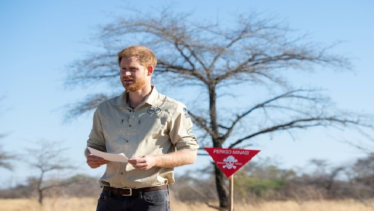 SABC News Prince Harry R - Britain's Prince Harry to meet Angolan president