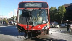 Rea Vaya bus involved in accident in Parktown.