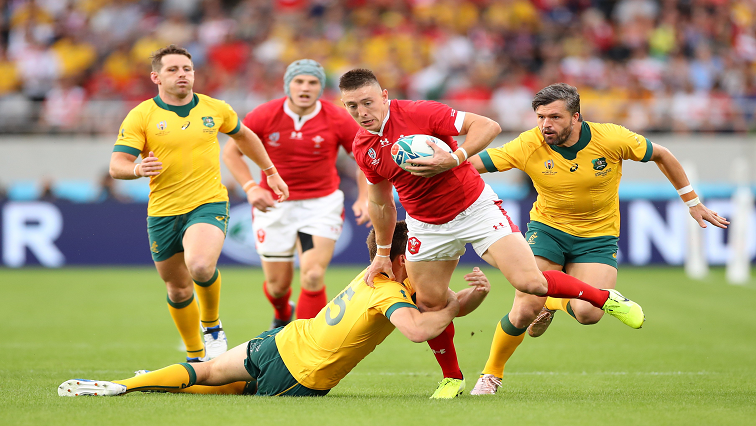 SABC News Rugby Wales Aus Twitter @rugbyworldcup - Wales overpower Australia to top Pool D