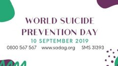 Poster for world suicide prevention days