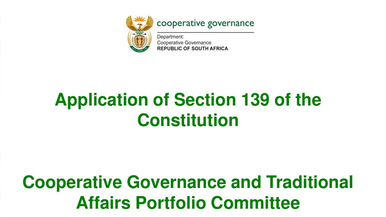SABC News Section 139 P - Section 139 implementation at Phokwane Municipality in question
