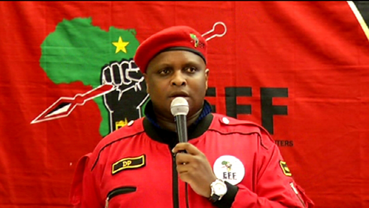 SABC News Shivambu - EFF rejects SACUM –UK deal