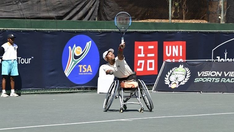 SABC News Sithole SABCIH - Sithole clinches SA Open men's quads singles final