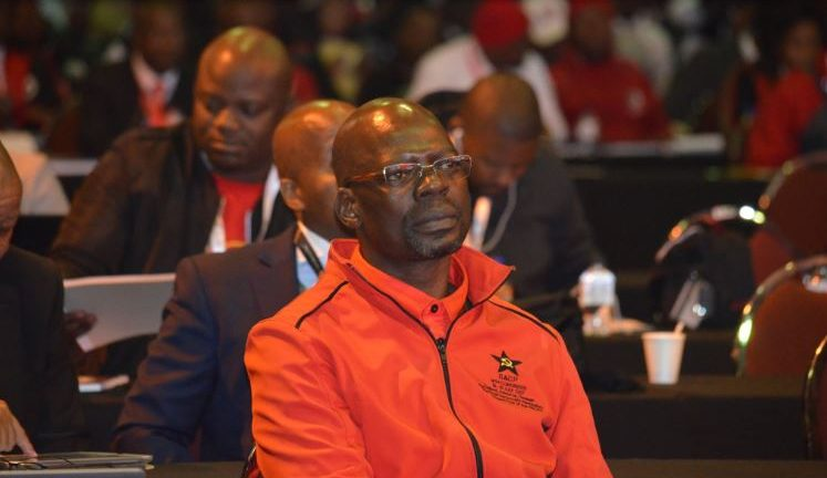 SACP 1st Deputy General Secretary, Comrade Solly Mapaila, at the @SadtuNational 9th National Congress held at Nasrec, Johannesburg. He will address the Congress on behalf of the SACP.