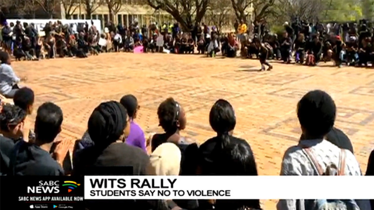 SABC News Wits P 1 - Wits University holds interfaith prayer ceremony for country's social ills