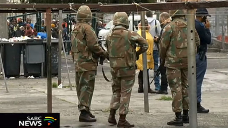 SABC News army - Ramaphosa extends army stay in crime-ridden Cape Town