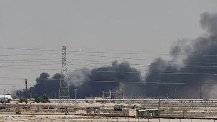 Oil plant in Saudi Arabia