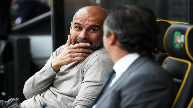 "SABC News Pep Guardiola Reuters - ""We can't win all the time,"" says glum Guardiola"