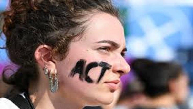 SABC News film Reuters - Climate change activists storm red carpet at Venice Film Festival