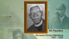 Zaccheus Mahabane
