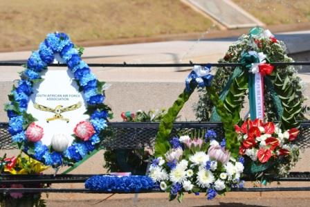 Alpine 44 Wreaths - SAAF's largest single loss in one day remembered