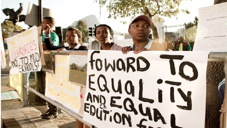 Poster on equal education