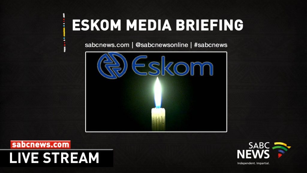 Eskom live  1024x577 - WATCH | Eskom media briefing