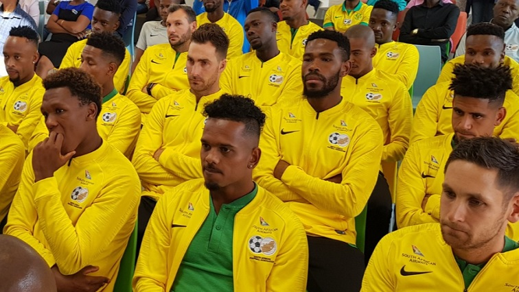 SABC News Bafana.jpg Twitter@Bafana - Bafana Bafana visit Nelson Mandela Hospital for Children