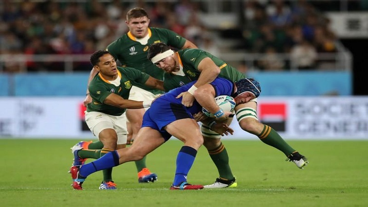 SABC News Boks Reuters - Erasmus praises Boks for demolishing Italy