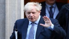 Britain's Prime Minister Boris Johnson leaves Downing Street to head for the House of Commons as parliament discusses Brexit