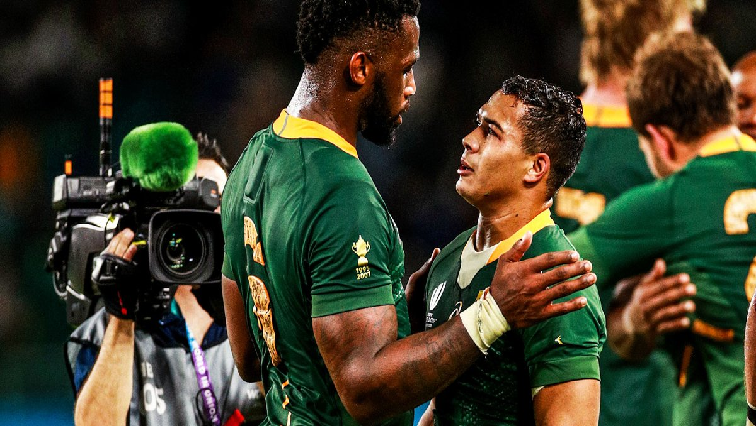 SABC News Cheslin Kolbe Twitter @Springboks - No significant changes to Boks, England teams ahead of Wold Cup final