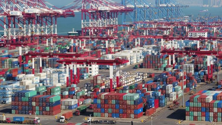 SABC News Chinas foreign trade Reuters - China's foreign trade up 2.8 pct in first 9 months