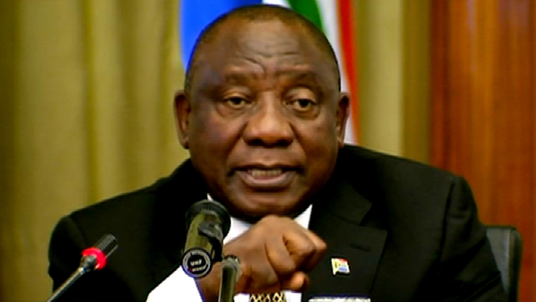 SABC News Cyril Ramaphosa - Ramaphosa weighs in on corruption in health sector