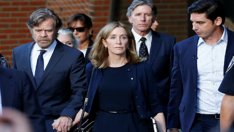 SABC News Felicity Huffman R - Actress Felicity Huffman released early from US college scandal sentence