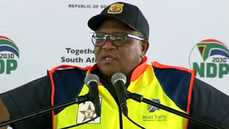 SABC News Fikile Mbalula 2 - Mbalula urges motorists to pay e-tolls