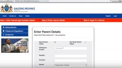 Video Tutorial on GP Learner Admissions shows you how to enter parent or guardian information.
