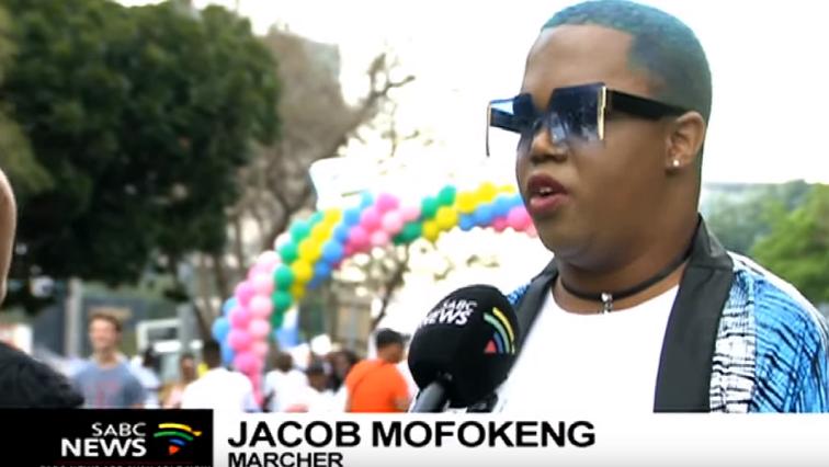 SABC News Gay - Gay pride takes over Sandton