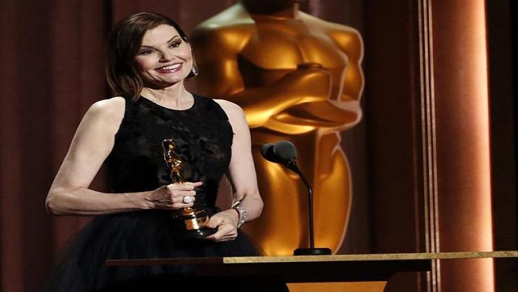 SABC News Geena Davis  Reuters - Geena Davis receives honorary Oscar for work against gender bias