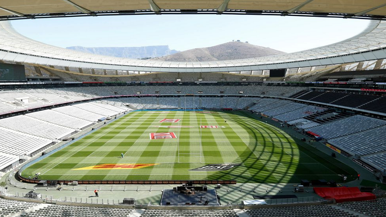 SABC News Green Point Stadium Twitter @RugbyWorld7s - SA to host 2022 Rugby World Cup Sevens