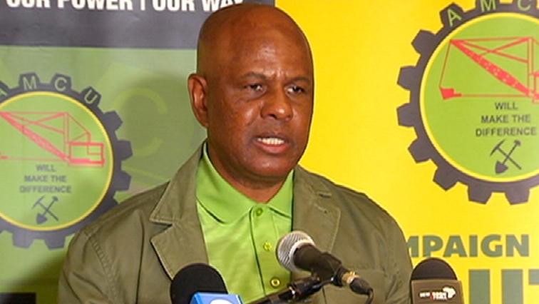 SABC News Joseph Mathunjwa - Amcu refers Sibanye-Stillwater to CCMA