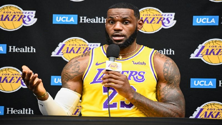 SABC News LeBron James R - LeBron draws social media ire over comments on Rockets GM's Hong Kong tweet