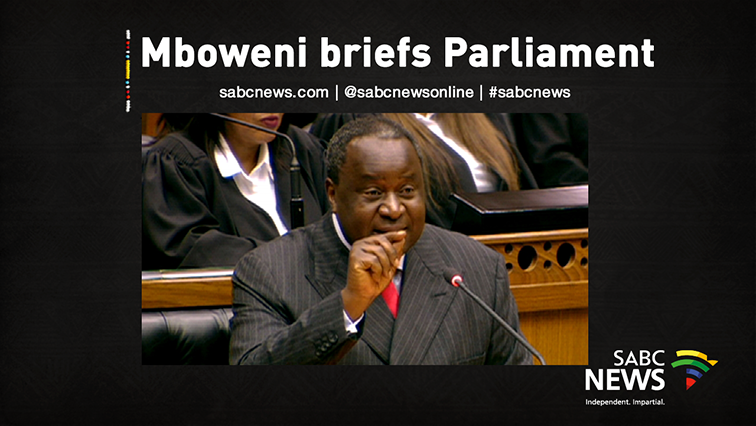 SABC News Mboweni Live - WATCH: Finance Minister Tito Mboweni briefs joint committees of Parliament